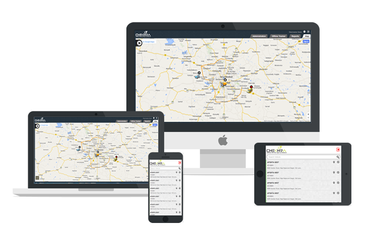 Chekhra GPS Tracking System support all platforms